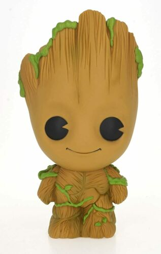 """MARVEL BABY GROOT BUST BANK 10/"""" BRAND NEW GREAT GIFT MONEY BOX"""