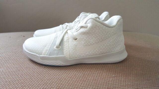 902cb15bc94ad New DS Nike Kyrie 3 TD Summer Pack Ivory White Boys Toddler sz 6c 7c ...