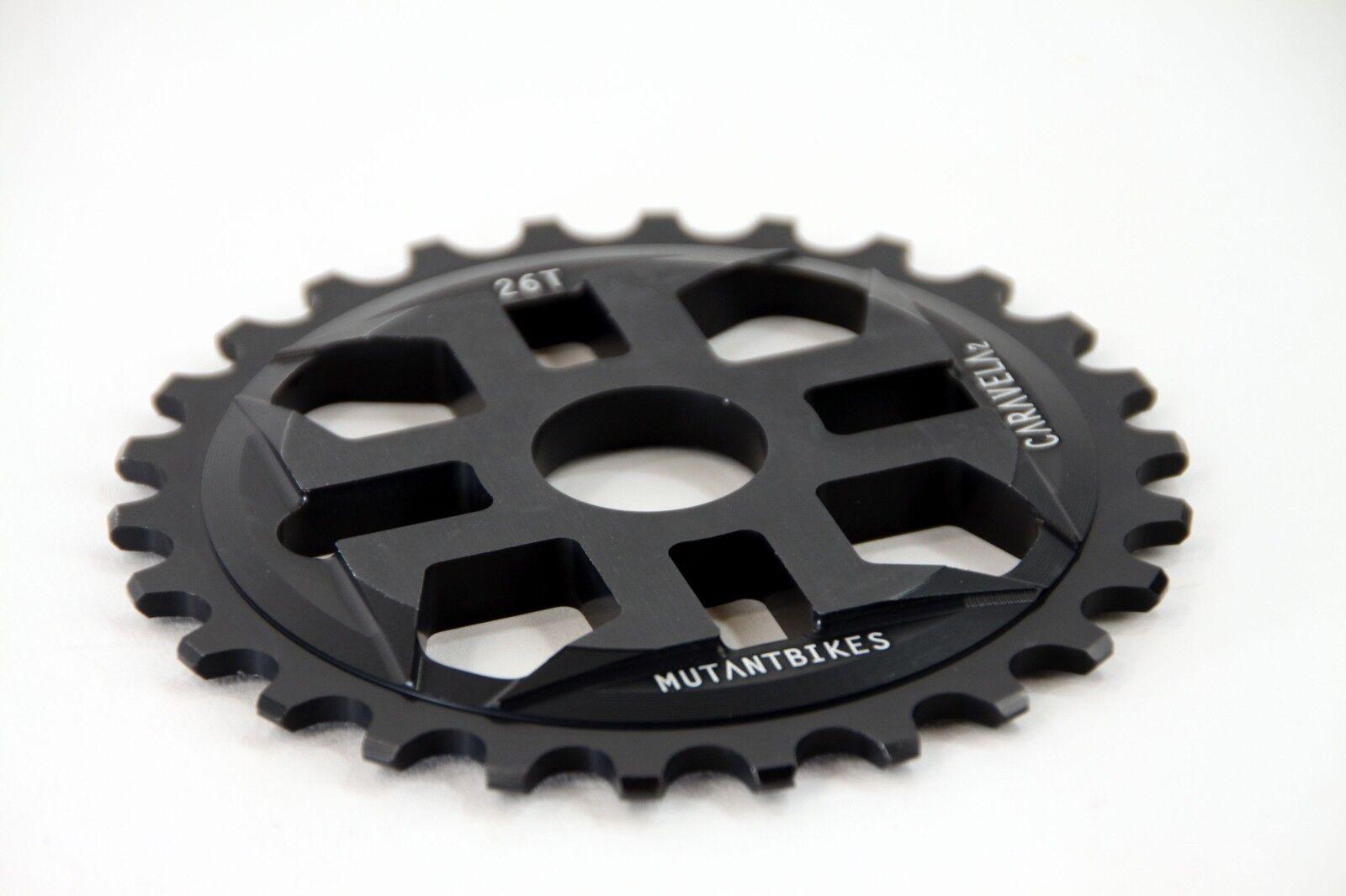 Mutant Bikes BMX Kettenblatt Caravela V2 schwarz