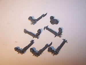 7-Chaos-Raptor-Warp-Talon-Close-Combat-Weapons-bits-auction-40K-GW