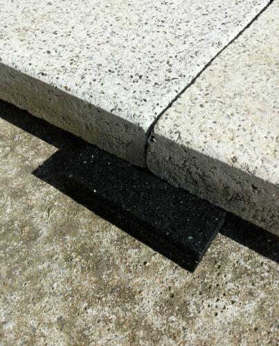 100 St 26,00€//m² Terrassen Pads 100x100x8mm Terrassenpad Plattenlager