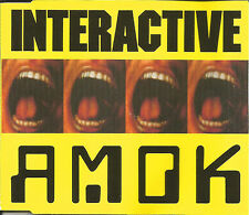 INTERCATIVE Amok & koma 4TRX 3 RARE MIXES MIXAPELLA CD single SEALED USA Seller