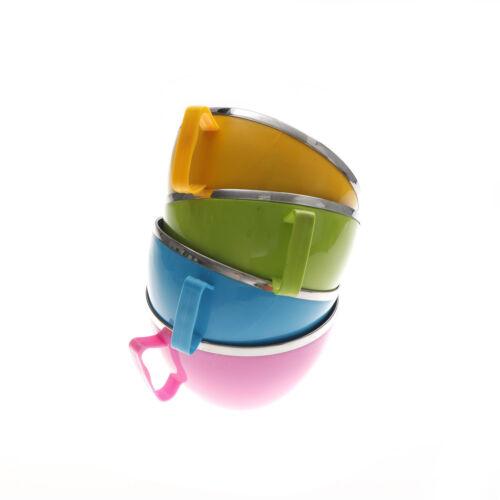 Edelstahl Schüssel Instant Nudelschüssel Lebensmittelbehälter ReisschüsselCGRD