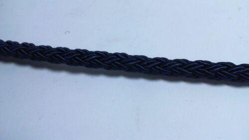 Cuerda Trenzada//Cable frontera ajuste-Azul Marino-aproximadamente 25 metros #29L489