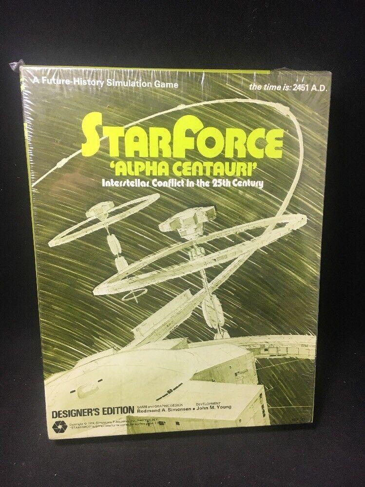 EstrellaForce Alpha  Centauri Interstellar Conflict 25th Century SPI 1974 SEALED RARE  consegna lampo