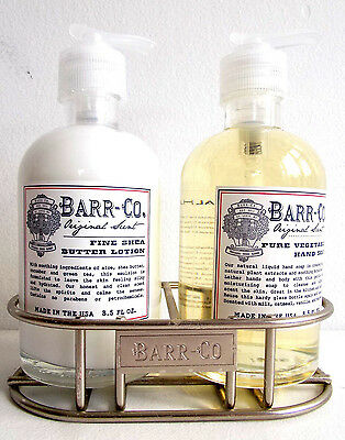 Barr-Co.Original Scent Soap and Lotion Hand Duo in Steel Tray