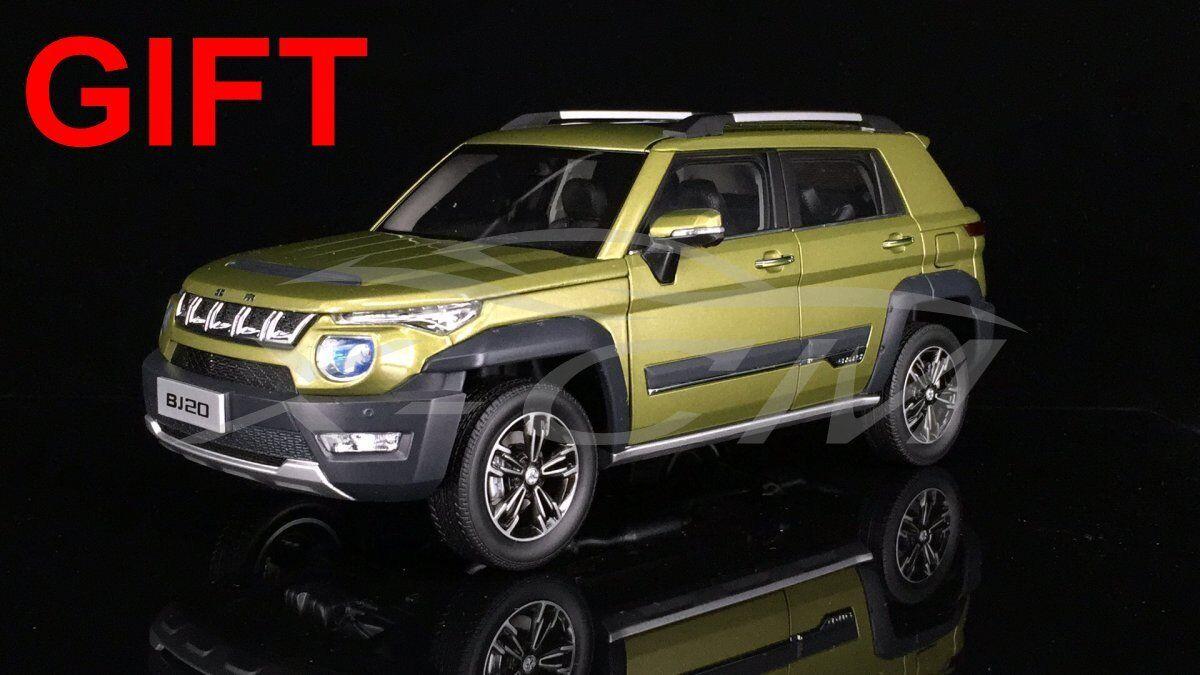 100% autentico Modelo de auto auto auto Beijing Jeep BJ20 1 18 (verde) + Regalo Pequeño     con 60% de descuento