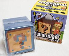 Super Mario Bros. Sound Bank Retro Question Block Underground Figure JAPAN NES