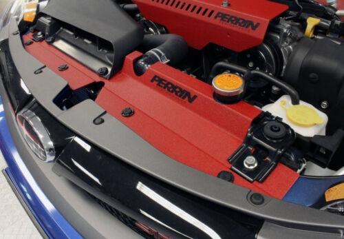 WRX STi RED Finish PERRIN Radiator Shroud Diversion 08-2014 Impreza