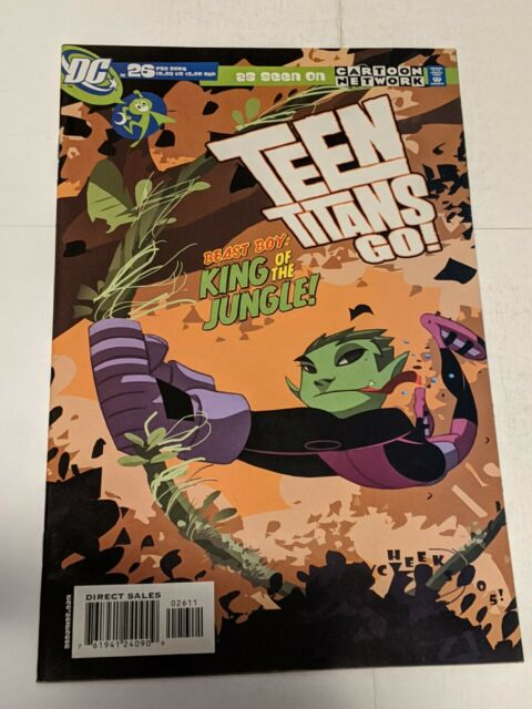 Teen Titans Go! #26 February 2006 DC Comics As Seen On Cartoon Network