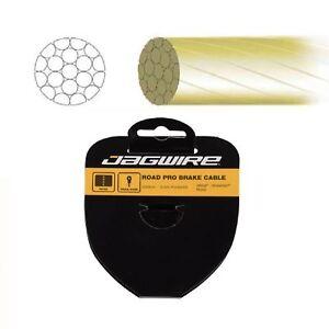 Cable-Interior-Del-Freno-Jagwire-Acero-Pulido-2000-mm-Luz-de-Oro-M04N