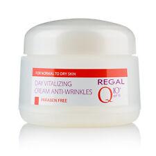 Crema de día revitalizante anti-arrugas piel normal a seca SPF 15, Regal Q10+