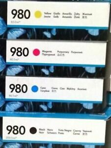 5 Sets Virgin EMPTY and USED Genuine HP 970XL 971XL Ink Cartridges EMPTIES
