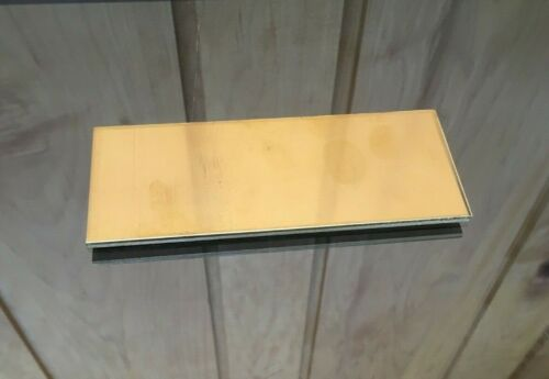"""1//8 BRASS SHEET PLATE NEW 2/""""X4/"""" .125 Thick *CUSTOM 1//8 SIZES AVAILABLE*"""