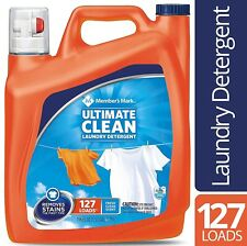 Member's Mark Ultimate Clean Liquid Laundry Detergent 127 loads, 196 oz.