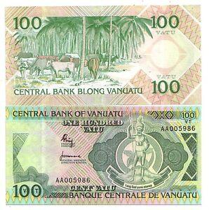 Vanuatu-100-Vatu-1982-Pick-1-FDS-UNC-rif-4054