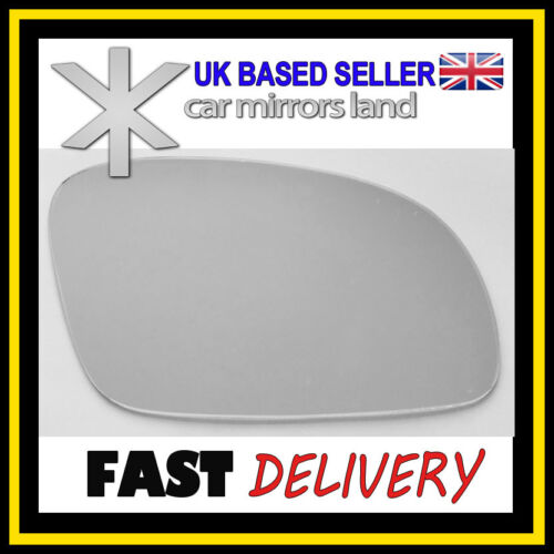 Right Driver Side Wing Car Mirror Glass Replacement VW New Beetle 2003-2010