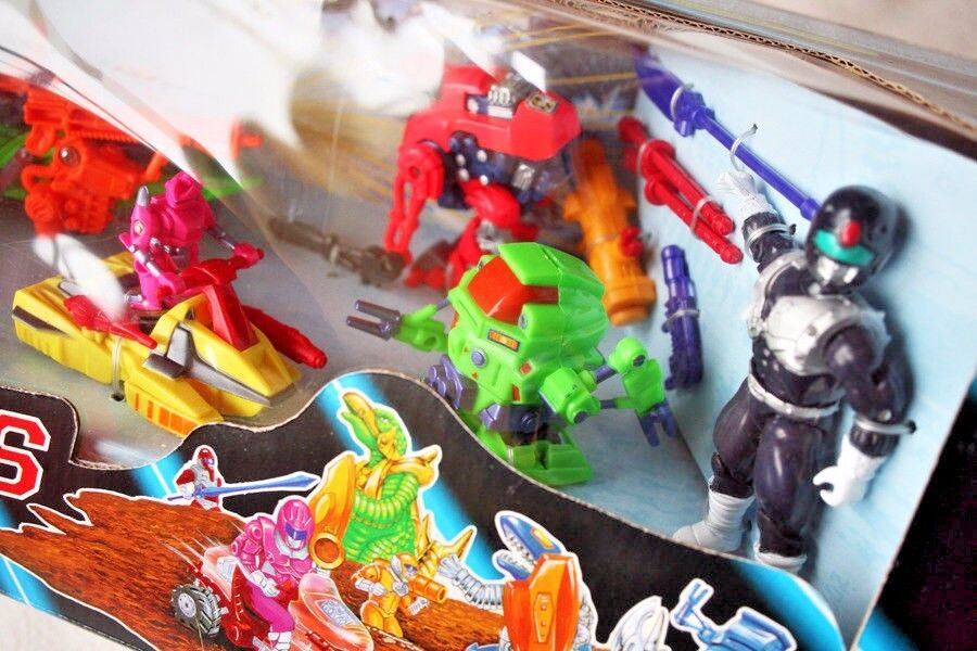 POWER FORCES Action Figures PLAYSET: JOINED (1994, (1994, (1994, Rarer Power Rangers). BNIB e3f69a