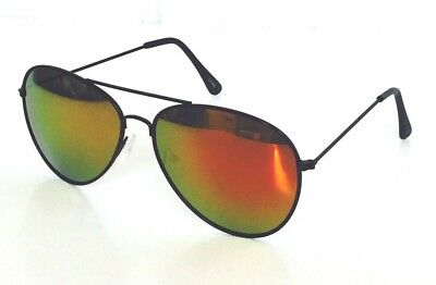 New Shades Mirrored Sunglasses All Gold Classic Party Hot Lunette Cop Pilot