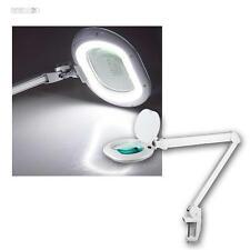 LED Lampe loupe Flux lumière modulable travail LOUPE PINCE LOUPE LAMPE