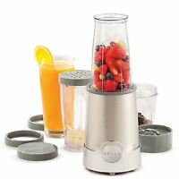 Bella 13330 12-piece Rocket Blender, Stainless Steel , New, Free Shipping