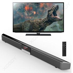 40W 3D Surround TV Soundbar System Lautsprecher Bluetooth 4.0 Wireless Subwoofer