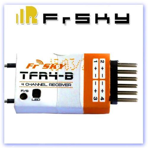 FrSKY TFR4-B FASST Compatible 2.4GHz 4-Channel Receiver