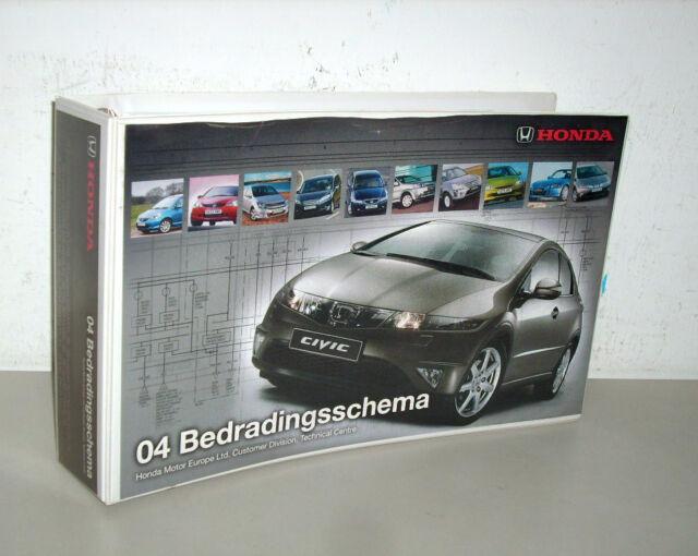 Workshop Manual Wiring Diagrams Bedradingsschema Honda