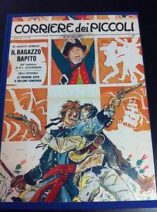 HUGO-PRATT-IL-RAGAZZO-RAPITO-IL-CORRIERE-DEI-PICCOLI-1967-VOLUME-RILEGATO