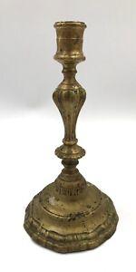 Bougeoir-chandelier-bronze-EPOQUE-LOUIS-XV-18TH-XVIIIe-CANDLESTICK