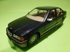 GAMA 2103 BMW 325i - E36 - 4-DOORS - BLUE METALLIC 1:24 - EXCELLENT CONDITION
