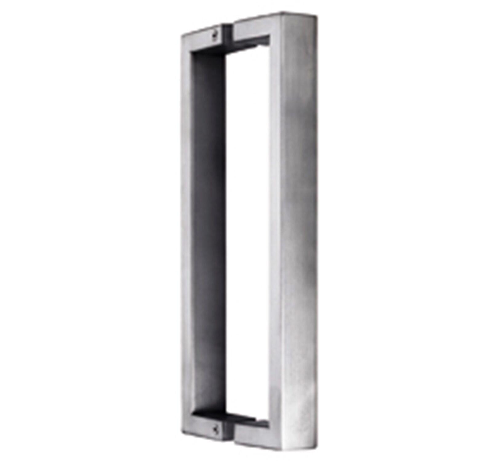 Türgriff für Ganzglastüren  Glastürgriff   Länge 29 cm  Griff gebürstet