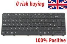 For HP EliteBook 840 G5 846 G5 Keyboard Silver Frame Backlit Norwegian Tastatur