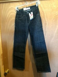Levi/'s Boys Slim 505 Regular  Straight Leg Jeans  Sz 12 Slim
