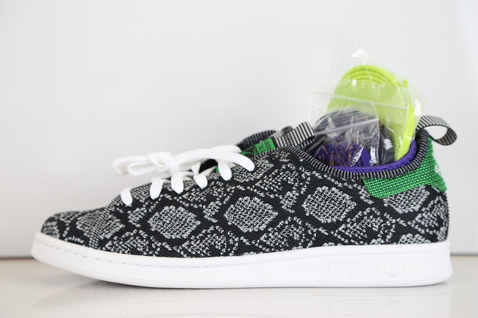 Adidas X conceptos Stan Smith em serpiente de punto 8-13 Primeknit Supremo tubular de corcho