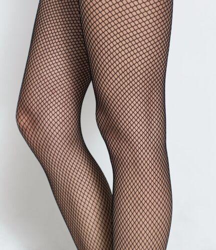 UK 8-12-sl Fishnet Tights Ladies Full Foot  Fine Fishnet Tights Various Color