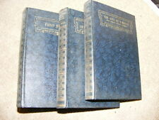 3 novels by H.G. Wells published 1933 HB part of set Mr Britling, Tono Bungay +