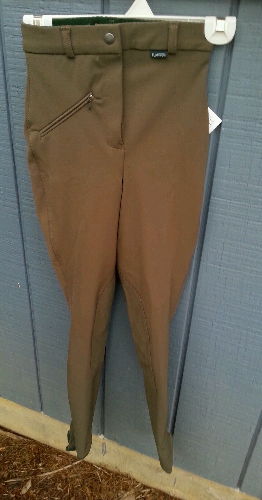 NWT Lot of 4 PLATINUM Country Basic  74 24L equitazione Pants Breeches 24 lungo Olive