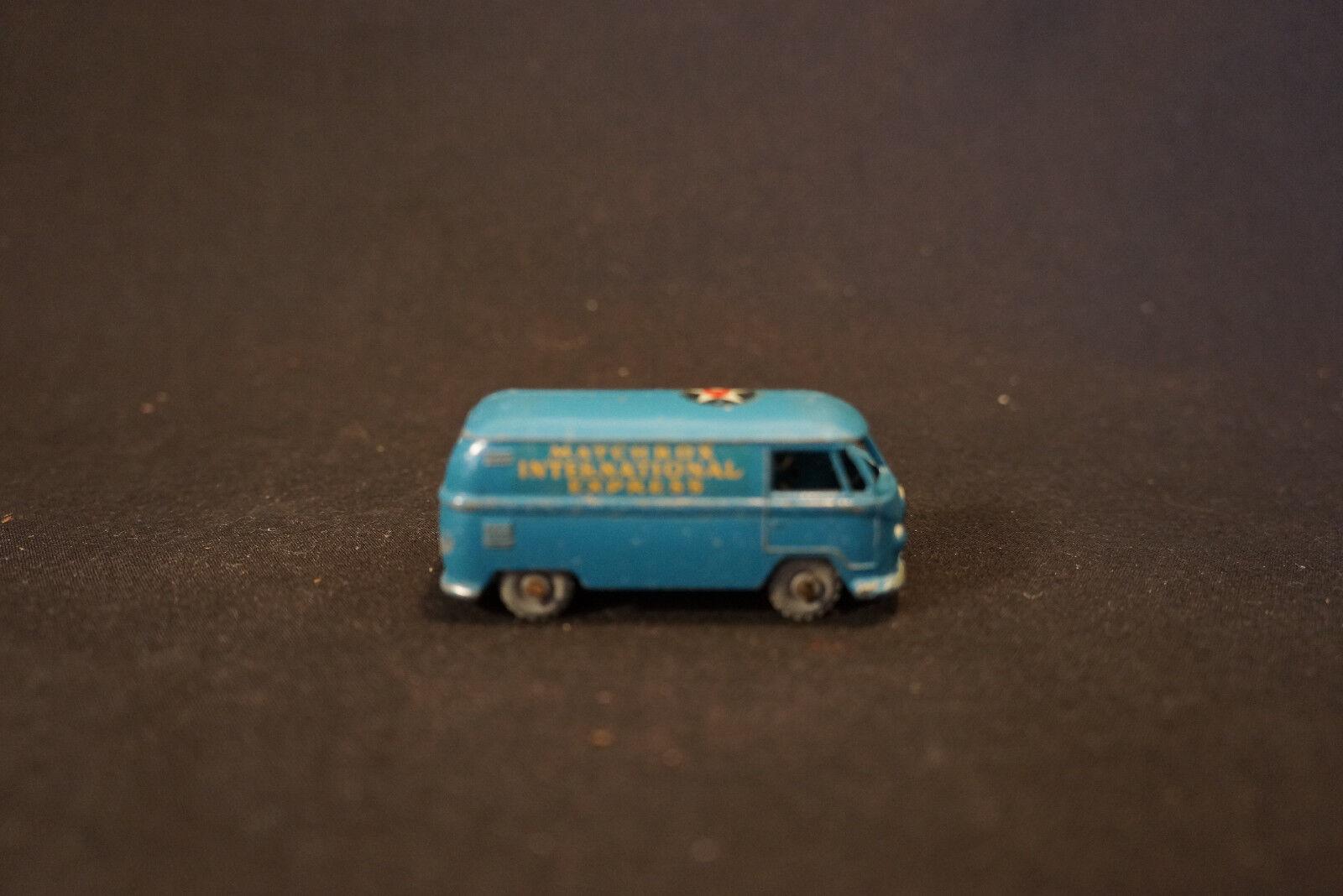 punto de venta en línea Antiguo De Colección Lesney Lesney Lesney Matchbox International Express gris ruedas  34 Diecast Juguete Van  promociones