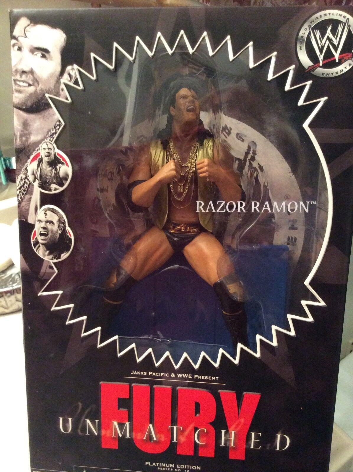 Wwe inigualable furia Razor Ramon Coleccionable lucha libre figura