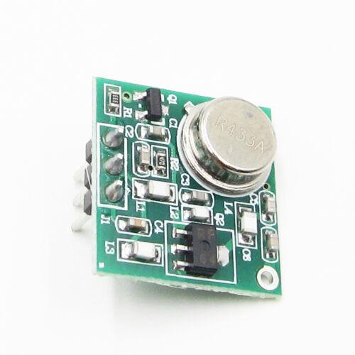 Praktisch DC 9V-12V 433.92MHz Wireless FM Transmitter Platte Module ZF-4