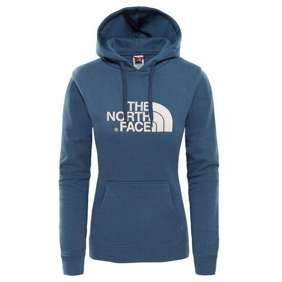 The North Face Drew Peak Pullover Hoodie W blu Wing Teal Peyote Beige T0A8MU...
