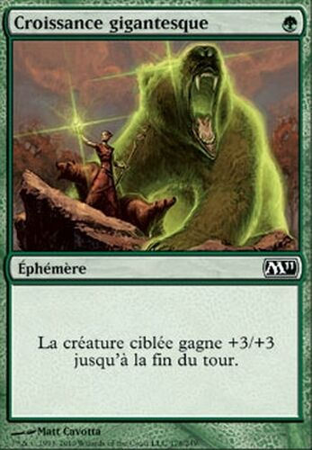 Giant Growth M11 2011 #178 VF Magic ▼▲▼ 4x Croissance gigantesque