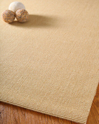 NEW Beautiful Hand Crafted Elements 100% Natural Fiber Sisal Home Rug 4'x6'