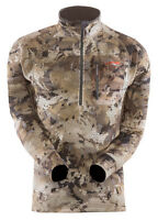 Sitka Gear Traverse Zip-t Shirt Waterfowl Camo 10001-wl-xl Extra Large