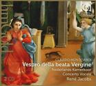 Vespro Della Beata Vergine von Rene Jacobs,Concerto Vocale (2015)