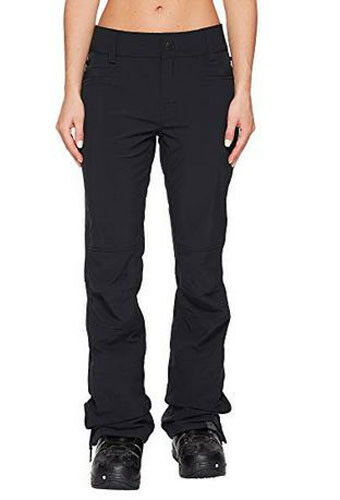 Roxy Women's Creek Snow Pants, Softshell Ski Snowboard, Size L, Inseam 32.5, NWT