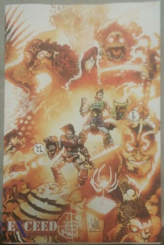 Bill /& Ted Go To Hell #4 Exceed Exclusives Variant Pax  Boom Comic  ex1