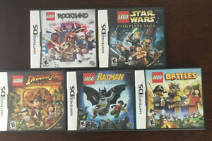 LOT-OF-5-NINTENDO-DS-LEGO-GAMES-BATMAN-BATTLES-STAR-WARS-INDIANA-JONES