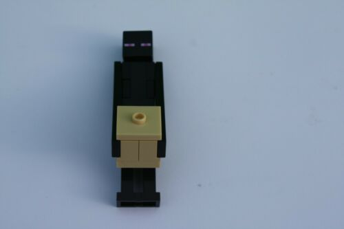 Lego Enderman Minecraft Minifigure min014 Genuine Set 21117 complete